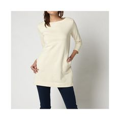 UNIQLO: WOMEN SWEAT 3/4 SLEEVE TUNIC  Product code: 070624  $ 29.90