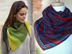 Бактус - идеальная защита шеи и груди в холодное время года. Самый простой способ заполучить особенный треугольный шарф - связать его самостоятельно.