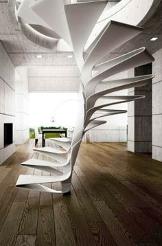 Crazy #spiral staircase!