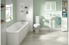 Alonso | Bathroom Suites | Bathroom | Rooms | DIY at B&Q
