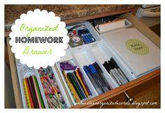 Clean, Organize, & Decorate: Homework made easy