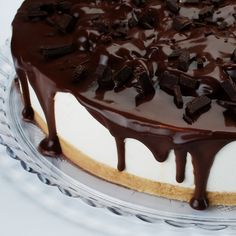 This recipes is a classic using fresh vanilla beans.  You can serve it plain or like we do, add a delicious chocolate drizzle topping.