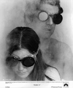 Lynne Frederick and Michael Murphy in Phase IV Phase Iv, Michael Murphy, Sci Fi Movies, Event Photos, Picture Photo, Behind The Scenes, Round Sunglasses, Photo Galleries, Gallery