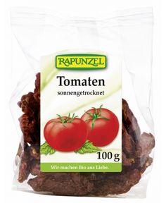 Rapunzel Bio Szárított Paradicsom felezett 100 g Egyéb bio élelmiszerek A Rapunzel szárított terméke olyan bio élelmiszer, mely ellenőrzött ökológiai gazdálkodásból származó, napon szárított paradicsomból készült (90%) tengeri só hozzáadásával.