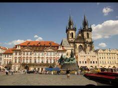 [Full HD] Sehenswürdigkeiten Altstädter Ring Und Astronomische Uhr Prag Tschechische Republik