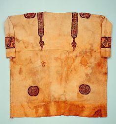 byzantine tunic, 6th-7th century in egypt