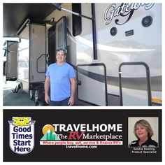 Congratulations to Greg on the purchase of his Gateway 3650BH #fifthwheel from Sandra! #heartlandrv #gatewayrv #travel #travelhome #RVlife #camping #vacation