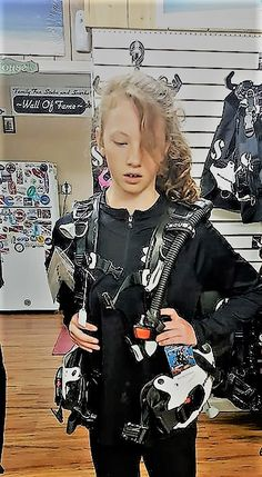 Have a child interested in scuba? We have everything  a variety of sized and brands. Contact us at info@FamilyFunScuba.com or call us at (406) 390- 2590