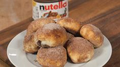 You Need to Make These Nutella Churro Balls Right Now