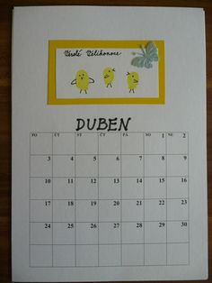 duben Grade 1, Periodic Table, Projects, Log Projects, Periodic Table Chart, Blue Prints