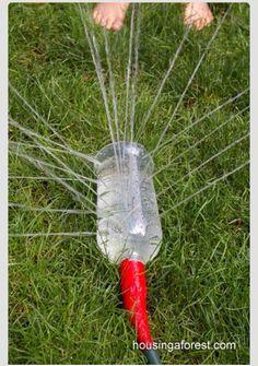 Easy sprinkler!
