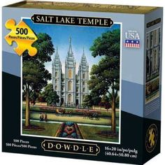 Dowdle Jigsaw Puzzle - Salt Lake Temple - 500 Piece