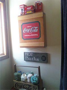 A Coca Cola Bathroom