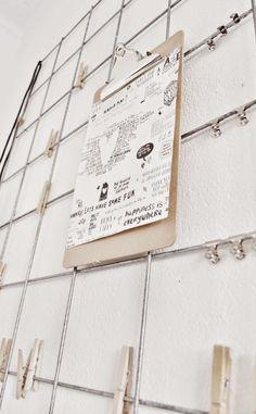 Linea R: Renovando nuestro espacio de trabajo mood board metálico