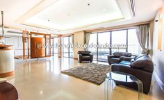 Superior Accommodation With Pool At Le Raffine  To find out more of this building & available condos or apartments for rent, go to:   http://bangkokcondofinder.com/condo-buildings-a-to-z/   This superior accommodation with pool at Le Raffine is a partially furnished high rise residence with 370 square meters floor space. This 3-bedroom and 4-bathroom condo has a panoramic walk-out balcony, floor tile and full length windows. Modern furniture and fixtures include a b