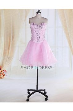 Pink Homecoming Dress #pink #homecoming #dresses #prom #cocktail #graduation
