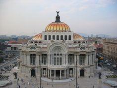 Palacio de bellas artes 1 - Arquitetura eclética – Wikipédia, a enciclopédia livre