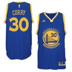 Stephen Curry Golden State Warriors New Swingman Road Jersey – Royal Blue