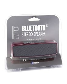 Bluetooth Enabled Stereo Speaker - Compatible with most devices, this stereo speaker is Bluetooth enabled and ready for the big game or next party! Works with iPad, iPhone, iPod, laptops, and MP3/MP4 players.
