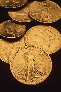 Gold Eagles and Double Eagles