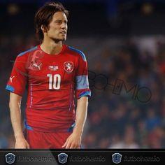 #04deOctubre cumple 36 años el pequeño Mozart el talentoso centrocampista Checo Tomas Rosicky  #futbohemio #futbol