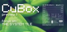 CuBox for Rainmeter - Preview 1 by Dariosuper on deviantART