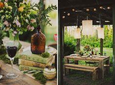 Magical Sunrise Wedding Inspiration/ Chandeliers!