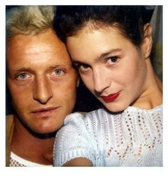 Rutger Hauer and Sean Young at the time of Blade Runner's shooting