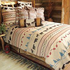 Juneau Bear & Moose Bed Set - King - CLEARANCE