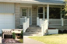 Front Deck Ideas | Home Exterior Renovation Ideas Photo Gallery : Pioneer Craftsmen