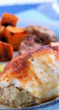 Easy Baked Crab-Stuffed Tilapia