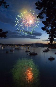 Fireworks - Roche Harbor