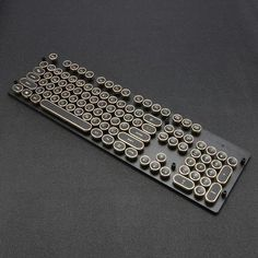Buy Steam Punk Typewriter Keyboard Caps online from It provides your fingers with a touch soft and will provide you with all comfort while typing. Steampunk Design, Steampunk Fashion, Ipad Pro, Steampunk Keyboard, Retro Typewriter, Gifts For Hubby, Surface Laptop, Gaming Room Setup, Accesorios Casual
