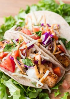 Blackened Mahi Mahi Tacos with Chipotle Mayo (plus more awesome Mahi Mahi recipes)!