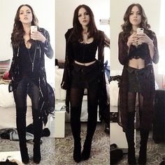 liz gillies sex and drugs and rock and roll outfits - Google Search
