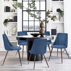 Our Best Dining Room & Bar Furniture Deals Mismatched Dining Chairs, Fabric Dining Chairs, Upholstered Dining Chairs, Dinning Chairs, Chair Upholstery, Bar Chairs, Modern Dining Chairs, Kitchen Chairs, Office Chairs