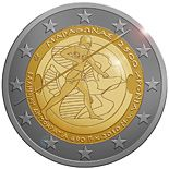 2 euro 2.500th anniversary of the Battle of Marathon - 2010 - Series: Commemorative 2 euro coins - Greece