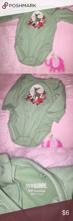 Gymboree Bodysuit Mint condition. No stains or signs of wear. Gymboree One Pieces Bodysuits