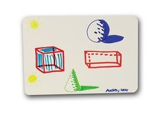 "11"" x 16"" Dry Erase Board - Dorm Essentials Product Shopping College Messages Marker"