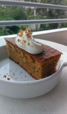 RECIPAY.COM - Gâteau sans gluten au spéculoos, amande et sa crème chantilly vanillée
