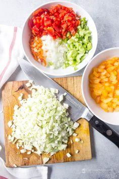 Spicy Chow Chow (low-carb, keto, paleo, vegan)