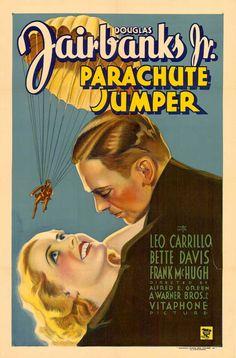Douglas Fairbanks Jr and Bette Davis - Parachute Jumper (1933)