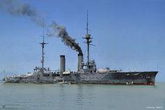 IJN Tsukuba  Battlecruisers  in 1914