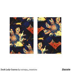 Dark Lady Canvas
