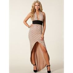 Vestido Largo de Encaje Color Beige Online VL72 Color Beige, Prom Dresses, Formal Dresses, Sexy, Two Piece Skirt Set, My Style, Skirts, Fashion, Dress Collection