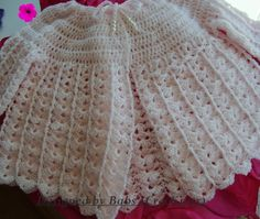 Sunday Best Crochet Baby Jacket another top to bottom pattern.