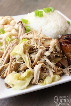 Slow Cooker Kalua Pork with Cabbage | Favorite Family Recipes