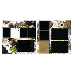 Beautiful  Premade Scrapbook Page Set by SusansScrapbookShack, $29.95