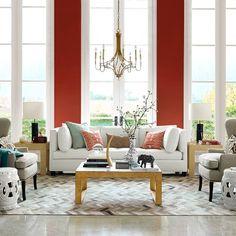 LR >> Linked Circles Garden Seat #williamssonoma