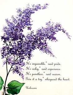 Ideas for ash tree tattoo flower Lilac Tree, Lilac Flowers, Purple Lilac, Lila Tattoo, Framed Wall Art, Wall Art Prints, Watercolor Flowers, Watercolor Paintings, Lilac Painting